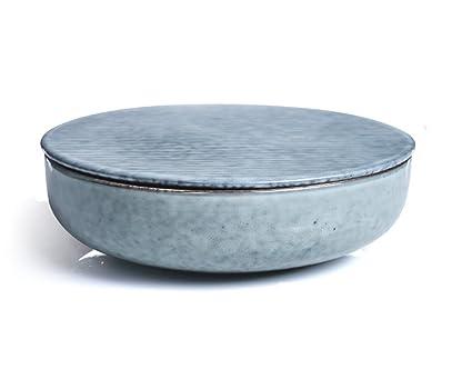 Zhdc® ciotola in ceramica stile vintage giapponese fatta a mano con