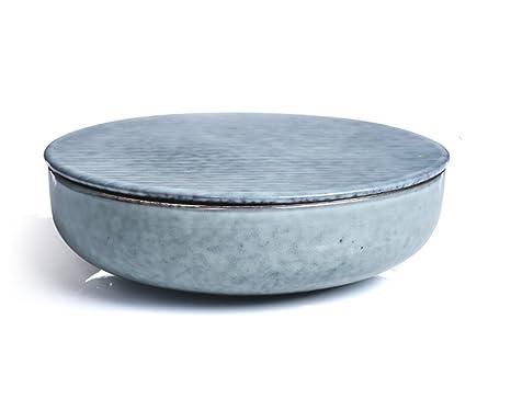 Hjhy ciotola in ceramica stile vintage giapponese fatta a mano con