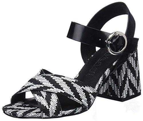 Multicoloured Grey SixtySeven Berit Lexa Sandals Women's Florty Strap Ankle Black FwXwn0qP