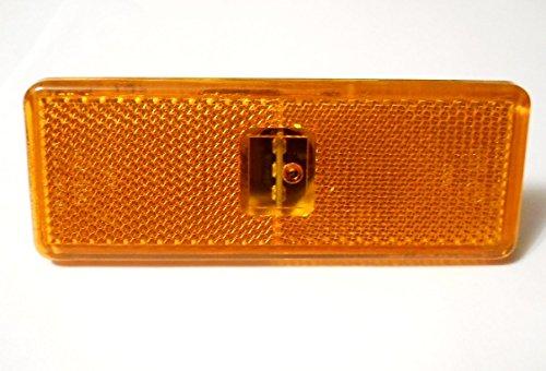 4 x r/éflecteurs LED lat/érales Feux de gabarit pour Actros Atego Axor Ambre lamps E11 marqu/é OEM Remplace