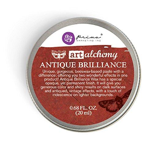 Prima Marketing Art Alchemy-Antique Brilliance-Fire Ruby