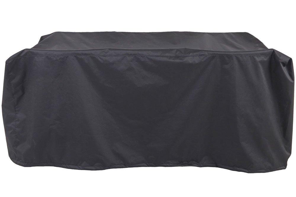 OUTFLEXX Premium Abdeckhaube für Esstischgarnituren, wasserbeständig, schwarz, 178x124x83 cm