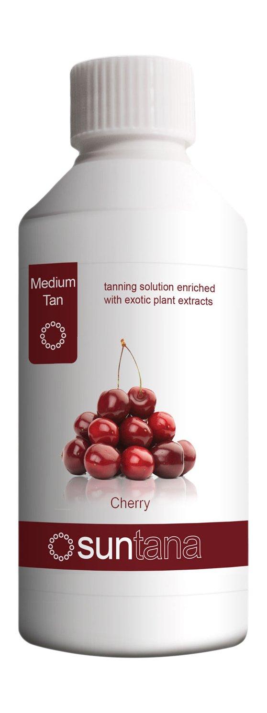 Suntana Spray tan Cherry Fragranced Spray Tanning Solution, Medium Tan 250 ml by Suntana Spray tan