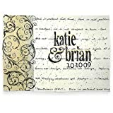 Personalized Corinthians Verse Anniversary or Wedding Platter, 14'' x 10'', American Made Pottery