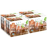 Good Karma Flaxmilk Chocolate 6.75 oz. Lunchbox Cartons (Shelf Stable 24 Pack) Great for Kids' School Lunches; Chocolate Flavored Dairy Free Milk Alternative Is Nut Free, Soy Free, and Gluten-Free