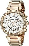 Michael Kors Women's Parker MK5491 Rose Gold Stainless-Steel Quartz Watch