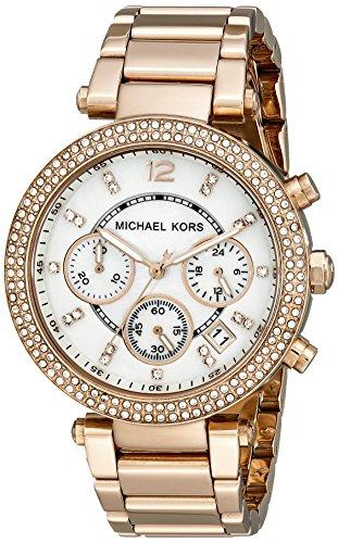 Michael Kors Parker Rose Gold Watch MK5491 by Michael Kors