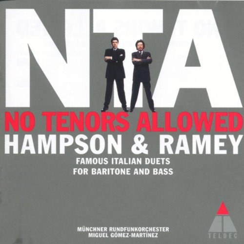 No Tenors Allowed: Famous Duets for Baritone and Bass (Bass Tenor Baritone)