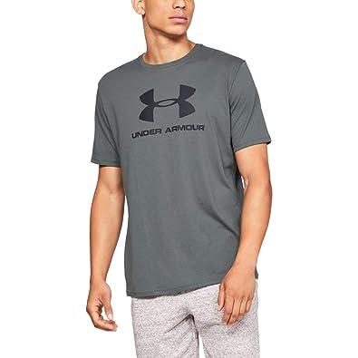 Under Armour Grey Sportstyle Logo Tee Short Sleeve T-Shirt