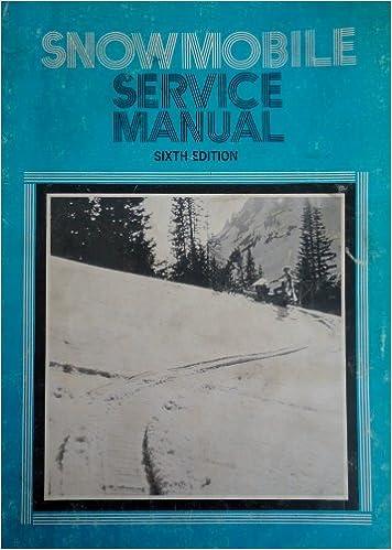 intertec snowmobile service manual