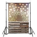 Yezijin Lover Dreamlike Glitter Haloes Photography Background Studio Props Backdrop(90cmX150cm) (B)