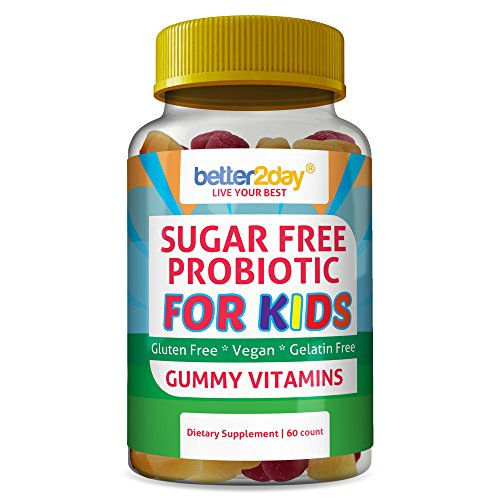 Kids Sugar Free Probiotic Gummies by Better2Day...