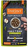 10 Pounds Dog Food - Instinct Raw Boost Healthy Weight Grain Free Recipe with Real Chicken Natural Dry Cat Food by Nature's Variety, 10 lb. Bag