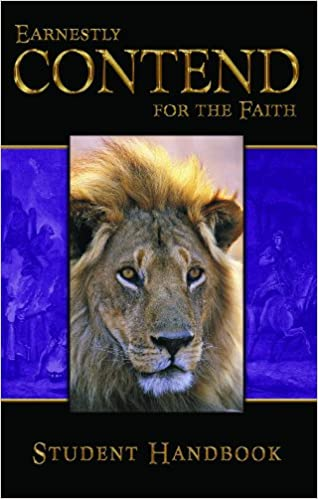 Book Earnestly Contend for the Faith: Student's Guide