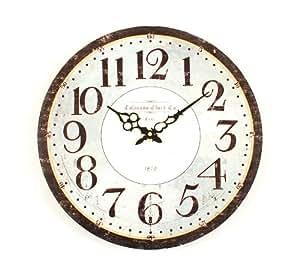 Ashton Sutton Wall Clock Classic Design Home Kitchen