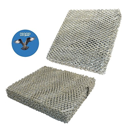 HQRP 2-Pack Water Filter for Honeywell HE220 HE225 HE220A HE220B HE225A HE225B HE100A HE150A HE150B HE200B HE240 Humidifiers; HC22 HC22P HC22P1001 HC22E1003 HC22A1007 Replacement + Coaster
