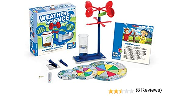 wacky weather crafts amazoncom little labs weather science toys games