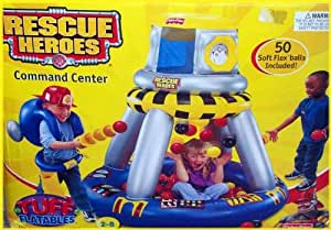 Fisher-Price Rescue Heroes Inflatable Command Center Ball Pit