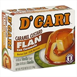 Dgari Flan Custard Caramel