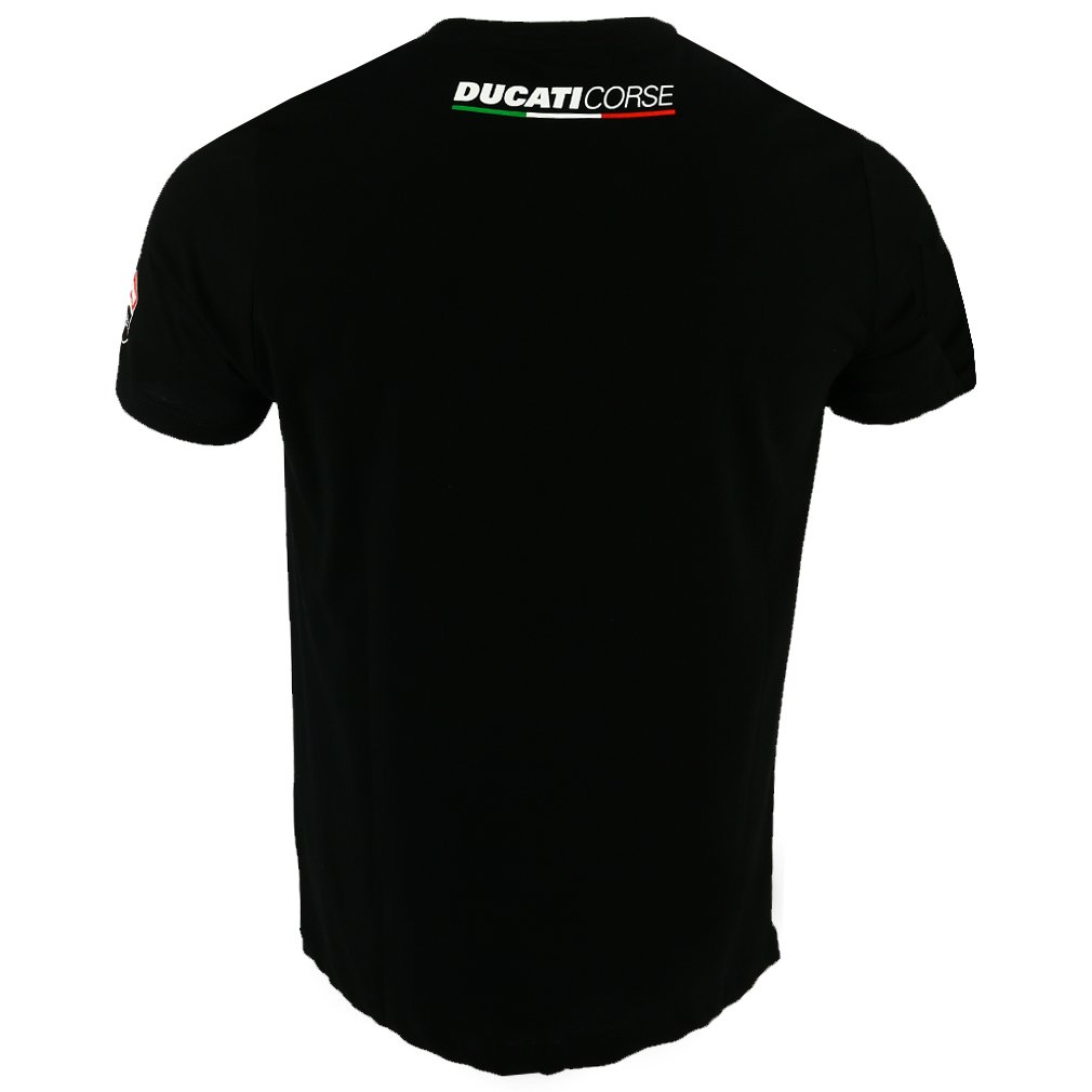 Gr/ö/ße XXL Pritelli 1836002//XXL Shirt Herren Ducati Corse Schwarz