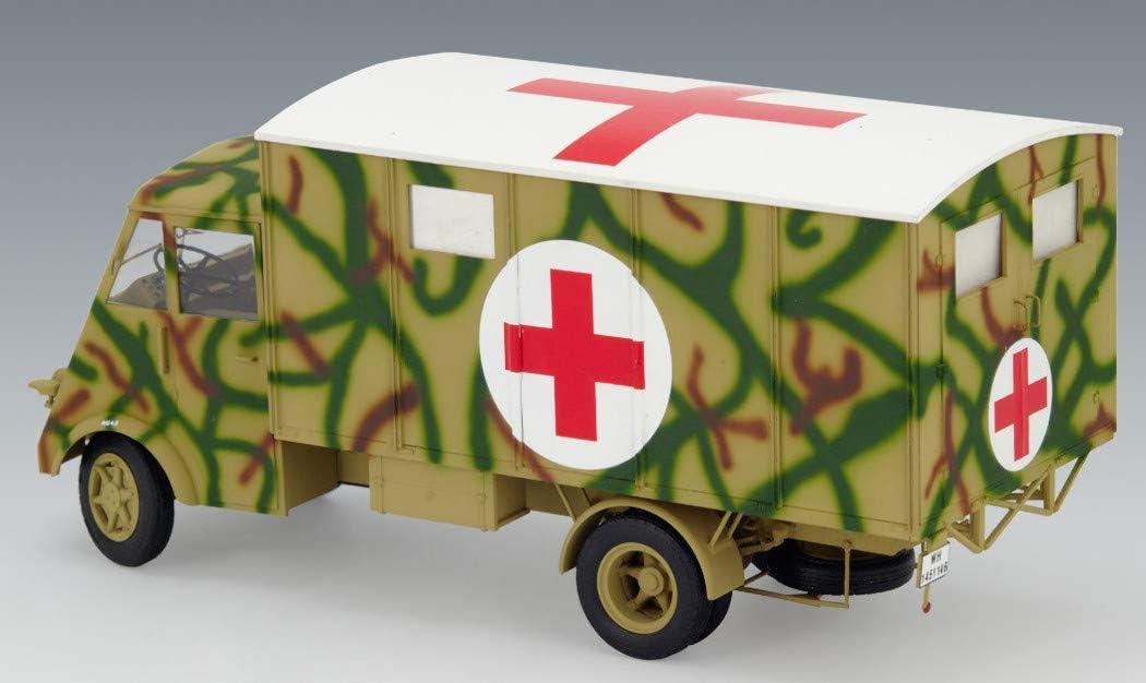 ICM Models Lastkraftwagen 3.5 T AHN with Shelter WWII German Ambulance Truck/ Model Kit