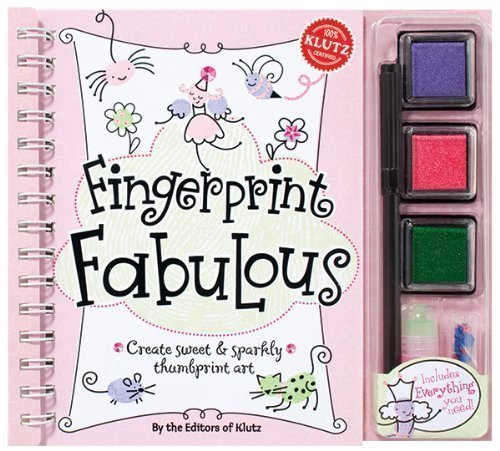 Thumbprint Art (Finger Print Fabulous (Klutz) by Klutz Eds 1st (first) Edition (2010))