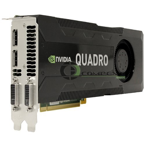 Nvidia Quadro K5000 MAC 4GB GDDR5 PCIe 2.0 x16 Kepler GPU Graphics Processing Unit Video Card by NVIDIA