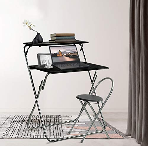 Aingoo Folding Computer Desk Chair Set 30