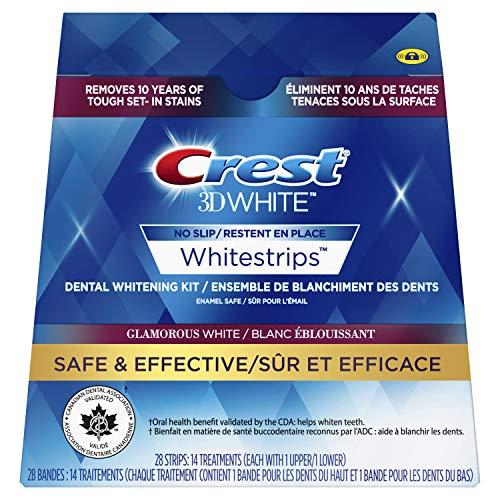 Crest 3D Whitestrips Glamorous White 28 Strips - 14 Treatments