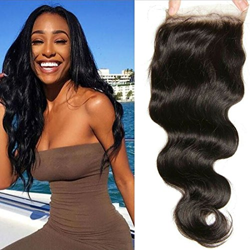 Malaysian Virgin Closure Natural 10inch