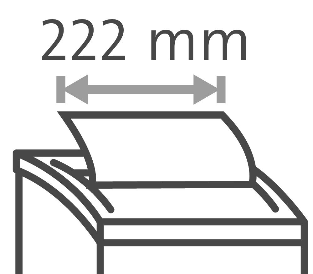 Dahle 35080 Aktenvernichter Autofeed Funktion: Automatischer Papiereinzug, 80 Blatt, P-4, Partikelschnitt, komm auf die sichere Seite - die DSGVO gilt schwarz