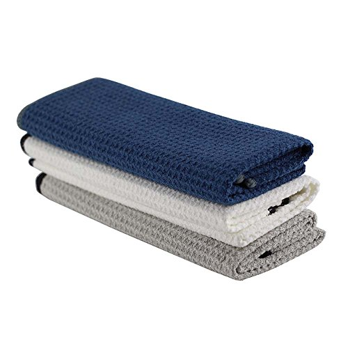 magic-lint-free-waffle-wave-cleaning-cloths-microfiber-towel-high-performance-water-absorb-3-pack-16