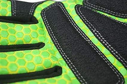 Seibertron HIGH-VIS HRC5 Rigger Excellent Grip Cut5 Handyman//Boxer Work Gloves Abrasion Resistant Oil /& Gas Drilling Safety Impact Protection Gloves CE EN388 3541 L