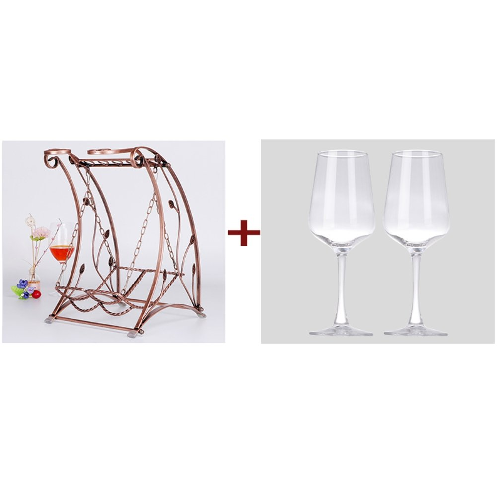 Wine glass holder,Wine cup rack stemware glass storage organizer freestanding wine cup display stand-D L10W10H16inch(262541cm) by bestwineholder