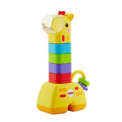 Fisher-Price Little Stackers Giraffe: Toys & Games
