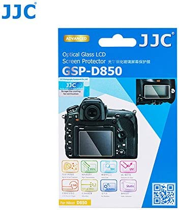 2pack 9H High Clear Screen Protector Tempered Glass for Nikon D850 Screen Protector for Nikon D850