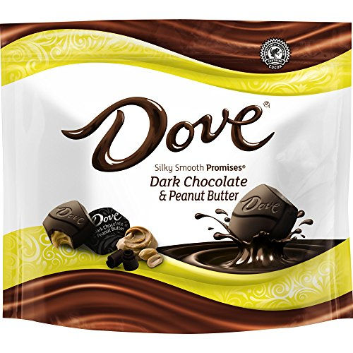 Dove Promises Peanut Butter and Dark Chocolate Candy Bag, 7.61 Oz by Dove