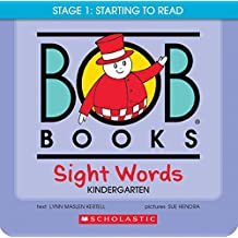 Bob Books Sight Words Kindergarten: Stage 2 Emerging Reader