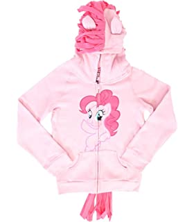 5c635886d38 Big Girls  My Little Pony Rainbow Joy Hoodie 4  Amazon.com.mx ...