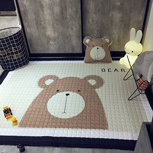 Care Bears Room Decor (Thick Cotton Baby Crawling Mat Cute Bear Play Carpet Children Bedroom Decor Living Room Rugs by IHEARTYOU)