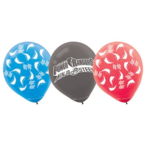 6 ct - Power Rangers Samurai Force Party Balloons ()