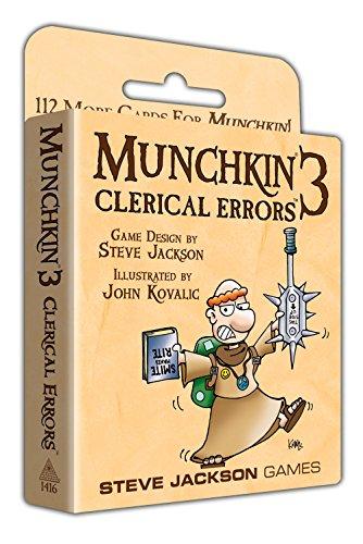 Munchkin 3 - Clerical Errors