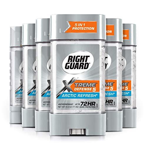 Power Gel Blasts - Right Guard Total Defense Power Gel Anti-Perspirant Deodorant, Artic Refresh, 4-Ounce Tube (Pack of 6)