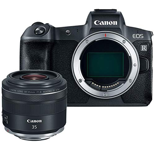 (Canon EOS R 30.3MP Mirrorless Camera (Body Only) w/RF 35mm f/1.8 Lens)