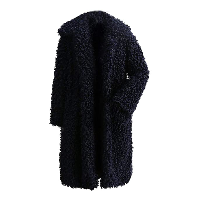 ❤ Abrigo de Invierno Mujer de Felpa, Mujeres de Invierno cálido Abrigo Grueso Abrigo sólido Abrigo Exterior Chaqueta de Abrigo Cardigan Absolute: ...