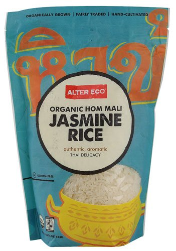 Alter Eco Fair Trade Organic Hom Mali White Jasmine Rice -- 16 oz - 2 pc by Alter Eco