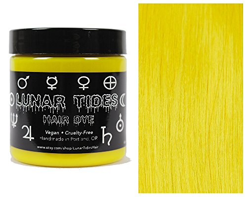 Lunar Tides Hair Dye - Citrine Bright Yellow