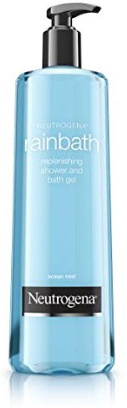 Neutrogena Rainbath Replenishing Shower & Bath Gel, Ocean Mist 8.5 oz (Pack of 3)