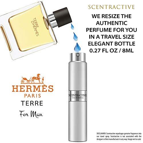 Terre_D'_Hermes For Men. Parfum Spray Travel Mini Size 8 ml / 0.27 Fl Oz