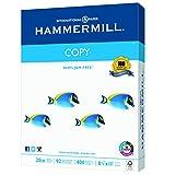 Hammermill Paper, Copy, 20lb, 8.5 x 11, Letter,  92 Bright, 400 Sheets / 1 Ream (150200R)
